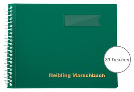 Helbling BMG20 Marschbuch grün 20 Taschen
