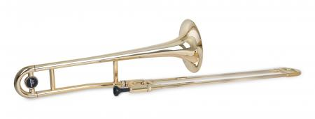 Classic Cantabile TROMBA Bb plastic tenor trombone –gold
