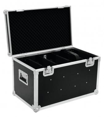 Roadinger Flightcase 4x PRO Slim Größe L