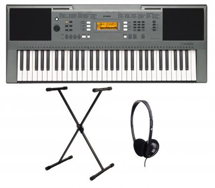 Yamaha PSR E353 Keyboard SET inkl. Ständer und Kopfhörer
