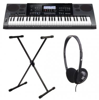Casio CTK-7200 Keyboard Set inkl. Ständer & Kopfhörer