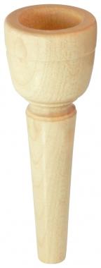 Lechgold MUA21 Ahorn Mundstück für Alphorn 21 mm