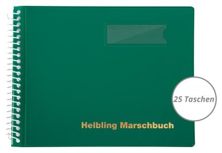 Helbling BMG25 Marschbuch grün, 25 Taschen
