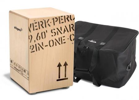 Schlagwerk CP403 Snare Cajon 2inOne Medium Set inkl. Tasche