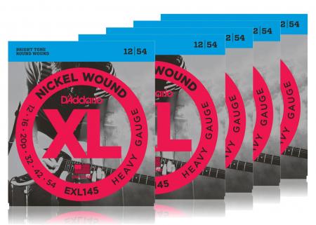 D'Addario EXL145 Heavy - 5er Pack