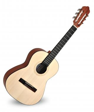 Calida Cadete Konzertgitarre 1/2 Fichte Matt - Made in Portugal  - Retoure (Zustand: akzeptabel)