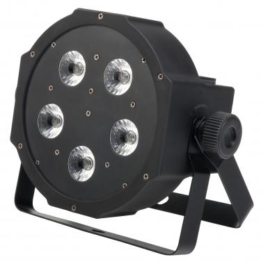 Showlite FLP-5x9W Flatline Panel LED Scheinwerfer RGB  - Retoure (Zustand: gut)