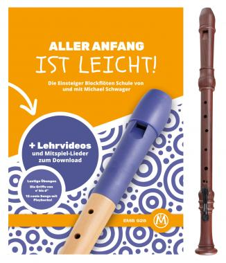 Classic Cantabile Bellissima tenor recorder plastic imitation wood