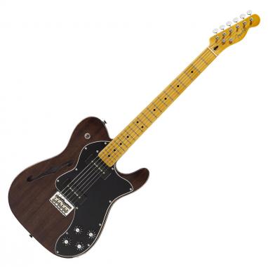 Fender Modern Player Tele Thinline Deluxe MN BK