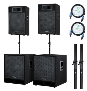 McGrey Stage-3000 PA-Anlage 3000 Watt