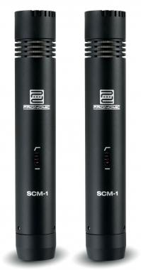Pronomic SCM-1 small-diaphragm stereo set