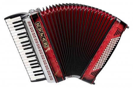 Zupan Juwel IV 96 MH accordéon Shadow Red