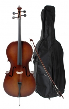 Classic Cantabile Student Cello-Set incl. strijkstok en tas, 3/4