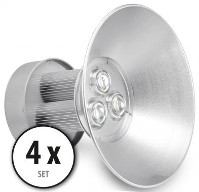 2 x Showlite HBL-100 COB LED High Bay éclairage de hall 100W