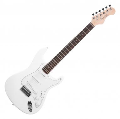 Rocktile Sphere Classic E-Gitarre White  - Retoure (Zustand: sehr gut)