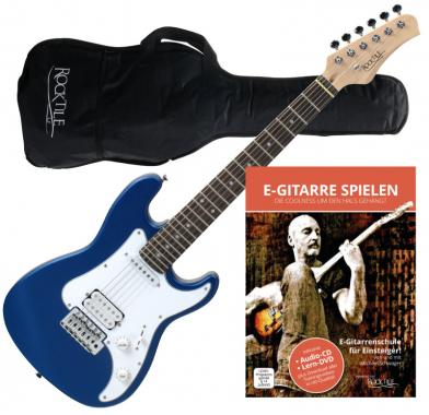 Rocktile Sphere Junior Guitare Electrique Bleu 3/4