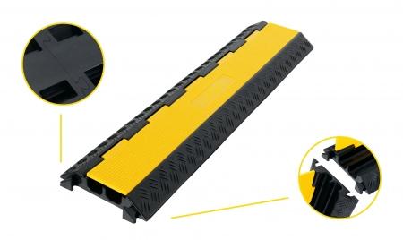 Pronomic Protector 2-100L V3 Kabelbrücke 2-Kammer 100cm mit V-Steckverbindung