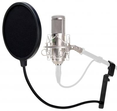 Pronomic CM-11 Studio. Micro à grosse membrane et filtre anti-plosives