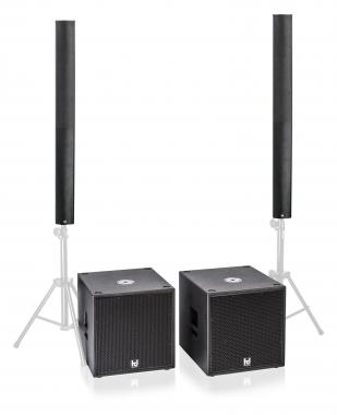 Harmonic Design PL12/P15-PA1 Multi DSP Aktivsystem 3700 Watt