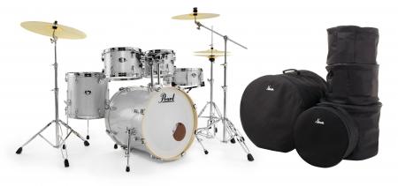 Pearl Export EXX725SBR/C700 Drumkit Arctic Sparkle Set mit Taschen
