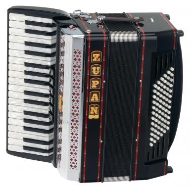 Zupan Alpe III 72 /MH Accordion (black)