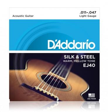 D'Addario EJ40 Silk & Steel