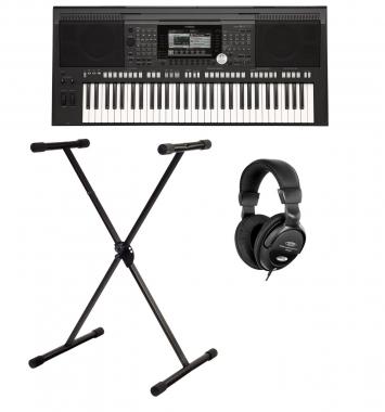 Yamaha PSR-S970 Keyboard SET inkl. Ständer + Kopfhörer