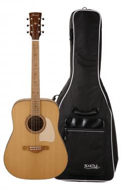 Ibanez AVD15MPL-OPS Westerngitarre Gigbag Set