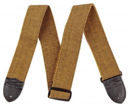 "Fender Strap 2"" Tweed Cotton GO/BLK"