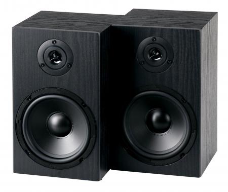 "McGrey BSS-265 6,5"" HiFi Regallautsprecher Paar schwarz  2x 40W RMS  - Retoure (Zustand: sehr gut)"