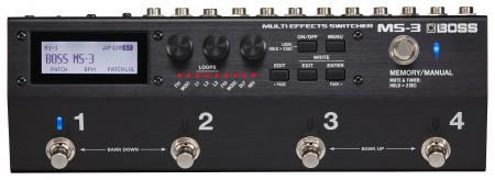 Boss MS-3 Multi Effects Switcher  - Retoure (Verpackungsschaden)