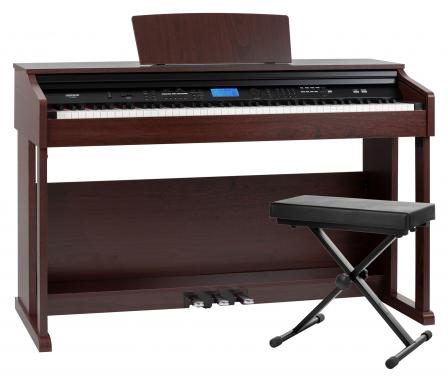 FunKey DP-2688A BM Digital Piano Brown Matte Bench Set