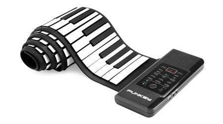 Funkey RP-88A Roll-Up Piano with MIDI incl. sustain pedal