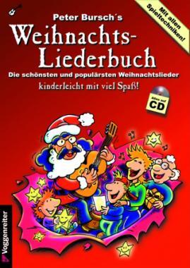 Peter Bursch's Weihnachts-Liederbuch inkl. CD