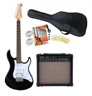 Yamaha Pacifica 012 Black E-Gitarre Starter SET