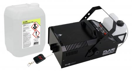 Involight Fume 1500 DMX Nebelmaschinen Set inkl. Smoke Fluid, 5L