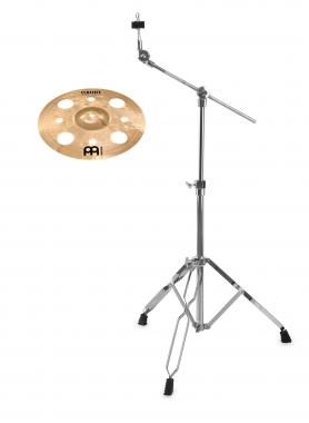 "Meinl Classics Custom Brilliant 12"" Trash Splash + Galgenbeckenständer SET"