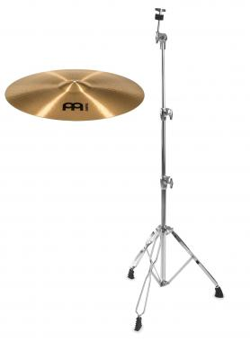 "Meinl Pure Alloy 22"" Medium Ride + gerader Beckenständer SET"