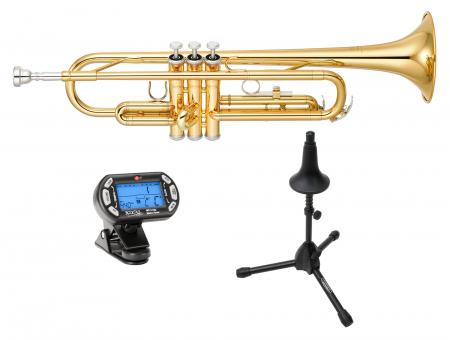 Yamaha YTR-2330 Trompeta (Incluidos afinador y soporte).