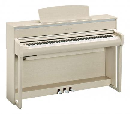 Yamaha CLP-675 WA Digitalpiano Weißesche