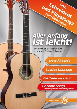 Michael Schwager, Getting started is easy, Guitar school + DVD and CD