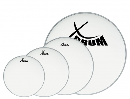 "XDrum Session Coated Set des peaux pour batterie, 10"" 12"" 14"" 20"