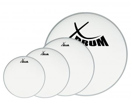 "XDrum Coated Drum Head Set 10"" 12"" 14"" 20"""