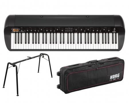 Korg SV1 73 Piano SET, schwarz