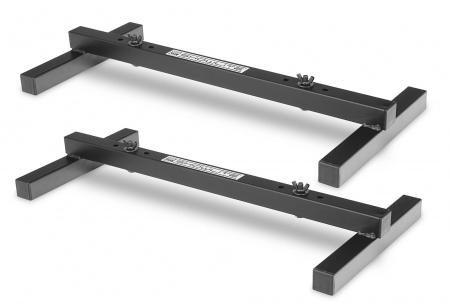 Set of 2 Showlite FLS-20 PAR floor light stand 2-fold