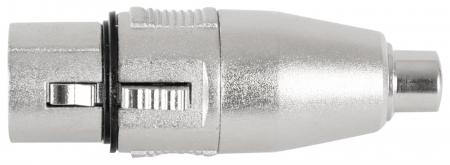 Pronomic AD-CFXF Adapter Cinch/RCA Female / XLR Female
