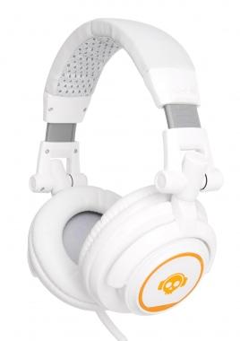 Pronomic SLK-40WT StudioLife Écouteurs Blancs incl. adaptateur  3.5 / 6.35 mm