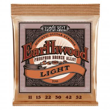 Ernie Ball 2148 Earthwood Phosphor Bronze Light