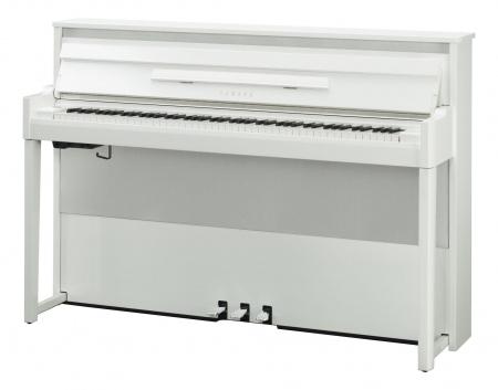 Yamaha NU1XPBW Hybrid Piano Weiß Hochglanz