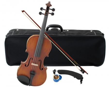 Classic Cantabile Student Violin 3/4 Comfort SET + Bow + Case